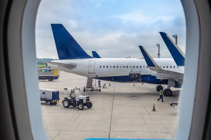 Aeroporto Internacional de Guarulhos: maior aeroporto do Brasil