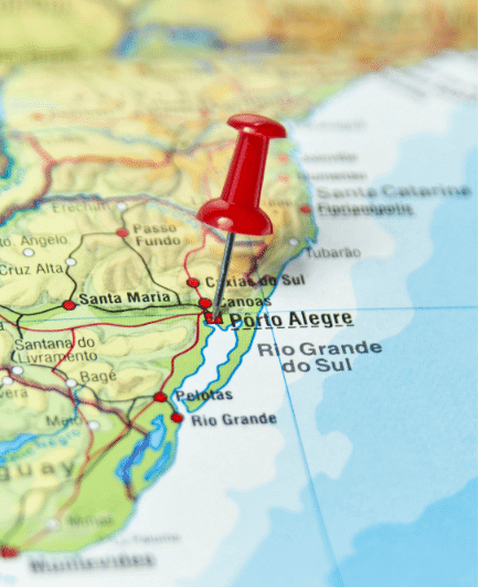 os melhores pontos turísticos de Porto Alegre