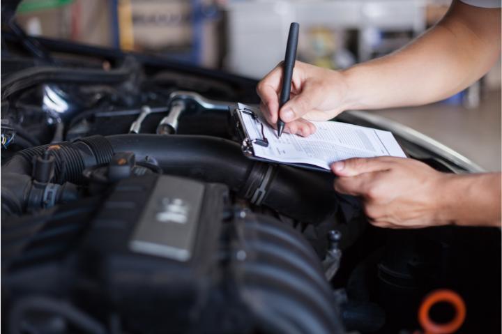 taxa de lavagem e inspeção carro alugado
